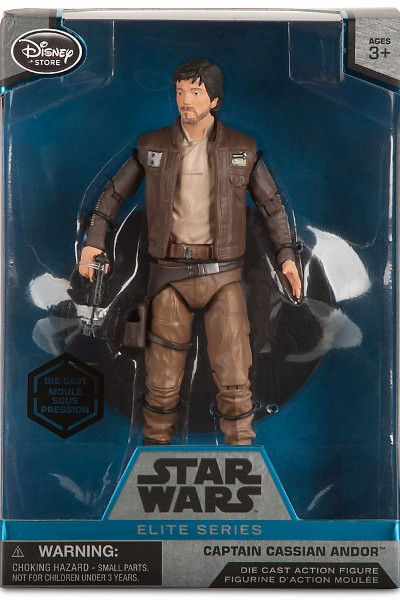 Hasbro Star Wars Elite Series Die Cast Rogue One Cassian Andor